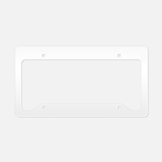 We-The-People-(white) License Plate Holder