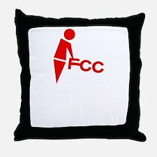 fuck_censorship Throw Pillow