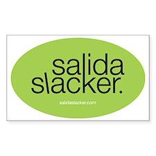 OVAL SLACKER Decal