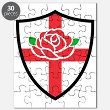 Rugby England English Rose Shield Puzzle