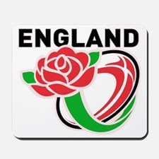 Rugby England English Rose Ball Mousepad