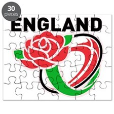 Rugby England English Rose Ball Puzzle