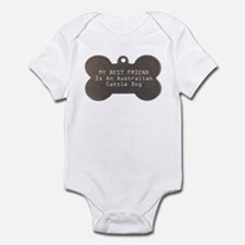 Friend Cattle Dog Infant Bodysuit