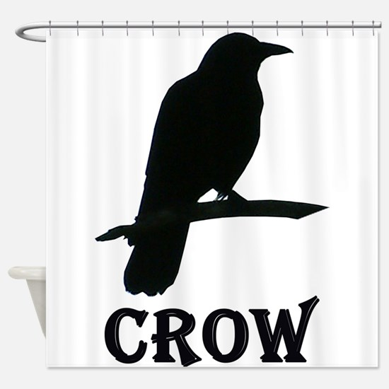Crow Shower Curtain