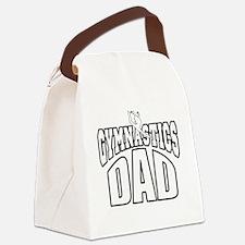 gymdad-DARK SHIRT Canvas Lunch Bag