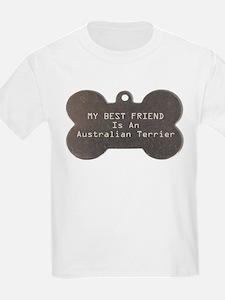 Friend Terrier Kids T-Shirt