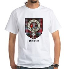 MacBean Clan Crest Tartan Shirt