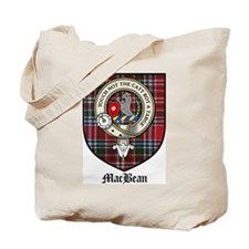 MacBean Clan Crest Tartan Tote Bag