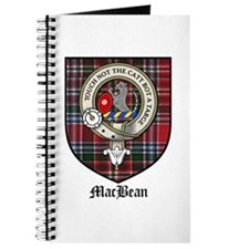 MacBean Clan Crest Tartan Journal