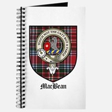 MacBean Clan Crest Tartan Journal