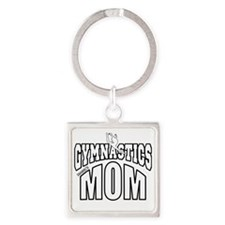 ISABELS MOM-DARK SHIRT Square Keychain