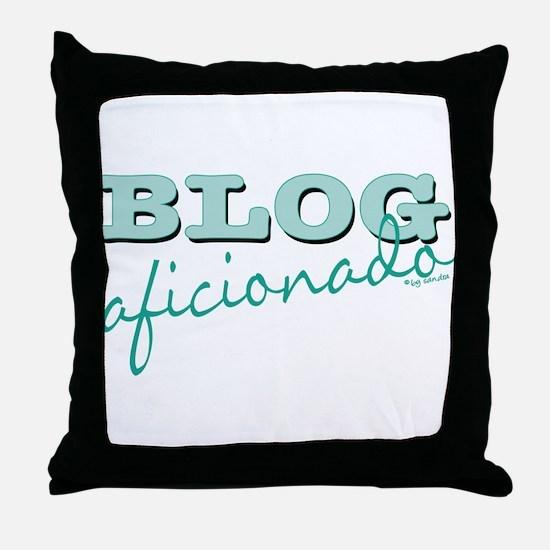 Blog Aficionado Throw Pillow