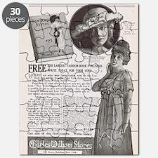 Dorothy Gish Ethel Clayton 1915 ad Puzzle