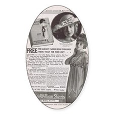Dorothy Gish Ethel Clayton 1915 ad Decal