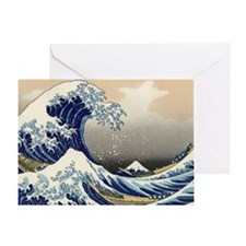 great-wave.travel Greeting Card