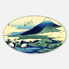 cranes-sagami.travel Sticker (Oval)