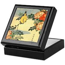 bird-flowers.square Keepsake Box