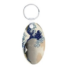 great-wave.p2 Keychains