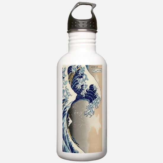 great-wave.p2 Water Bottle