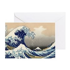 great-wave.shirt Greeting Card