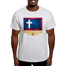 Missouri Battle Flag (flag 10) T-Shirt