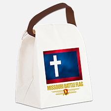 Missouri Battle Flag (flag 10) Canvas Lunch Bag