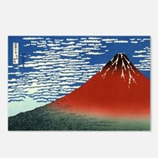 red-fuji.shirt Postcards (Package of 8)