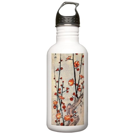 Blooming plum tree.p2 Stainless Water Bottle 1.0L