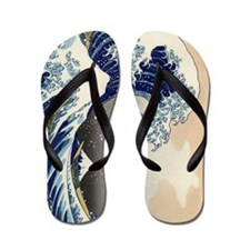 great-wave.p3 Flip Flops