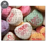 Valentine s candy heart Puzzles