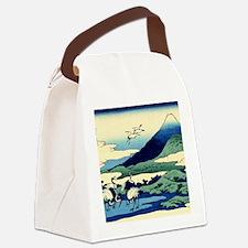 cranes-sagami.mouse Canvas Lunch Bag