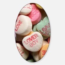 Valentine Candy Hearts Decal