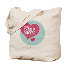 CHARLIE SHEEN GODDESS Tote Bag