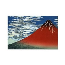 red-fuji.57 Rectangle Magnet