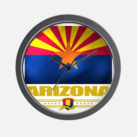 Arizona (Flag 10) Wall Clock