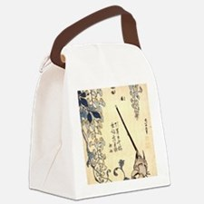 Wagtail.mouse Canvas Lunch Bag