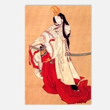 Shirabyoshi dancer.square Postcards (Package of 8)