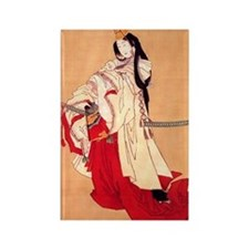Shirabyoshi dancer.square.57 Rectangle Magnet