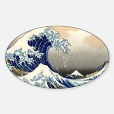 great-wave.57 Decal