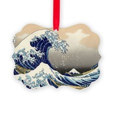 great-wave.57 Ornament