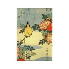 bird-flowers.57 Rectangle Magnet