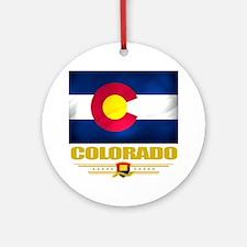 Colorado (Flag 10) Round Ornament