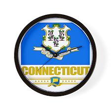 Connecticut (Flag 10) Wall Clock