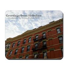 hoboken calendar Mousepad
