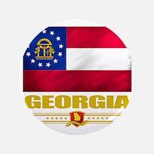 """Georgia (Flag 10) 3.5"""" Button"""