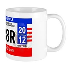 Iraq Diplomatic Plate Small Mug