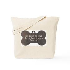 Friend Bedlington Tote Bag