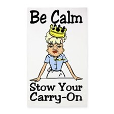 Be Calm 3'x5' Area Rug