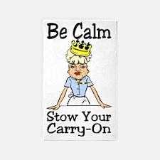 Be Calm 3'x5' Area Rug