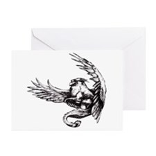 Griffin Fantasy Art Greeting Cards (Pk of 10)